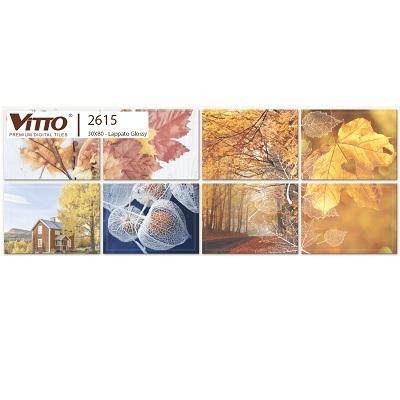 Gạch Vitto 2615 trang trí ốp tường 30×80