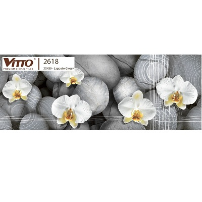 Gạch Vitto 2618 ốp tường trang trí 30×80