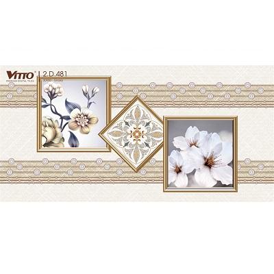 Gạch trang trí Vitto 2D481 ốp tường 30×60