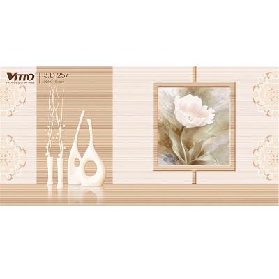 Gạch trang trí Vitto 3D257 ốp tường 30×60