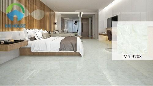 gạch vitto 50x50 vân đá sang trọng cho phòng ngủ