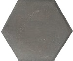 Mẫu gạch lục giác lát nền màu xám đơn giản