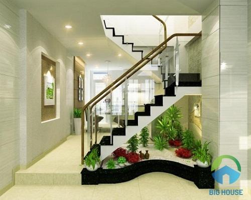 giếng trời cầu thang 1