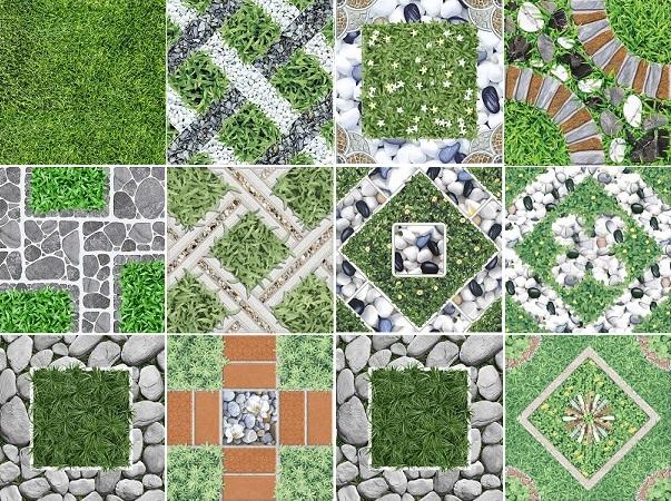 Top 30++ map gạch cỏ đẹp độ phân giải cao, không vết ghép