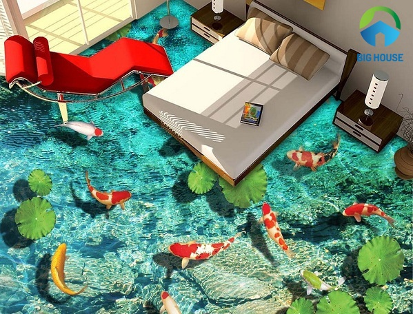 Có nên dùng gạch 3D phòng ngủ không? Tư vấn từ chuyên gia