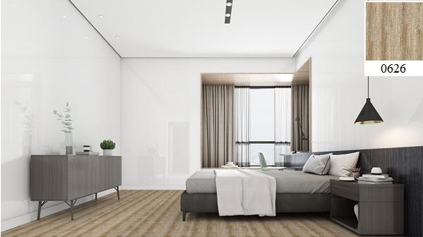 Gạch lát phòng ngủ Vitto vân gỗ