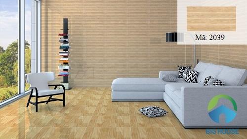 mẫu gạch ốp tường vân gỗ nhẹ nhàng