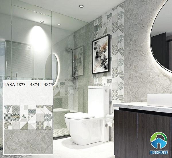 mẫu gạch ốp tường nhà tắm tasa