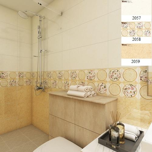 Cách ốp tường vệ sinh vitto phổ biến