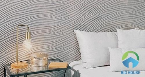 những mẫu gạch ốp tường phòng ngủ đẹp mắt