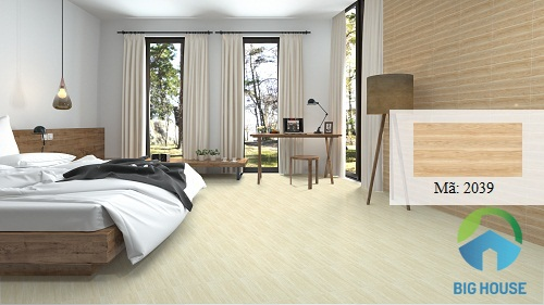 những mẫu gạch ốp tường phòng ngủ đẹp 9