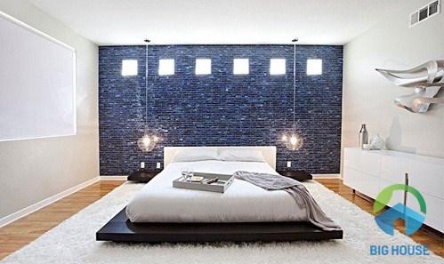 phòng ngủ có nên ốp gạch không
